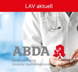Button LAV aktuell - ABDA