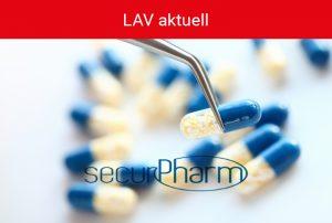 Kachel LAV aktuell - securPharm