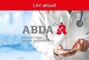 Kachel LAV aktuell - ABDA